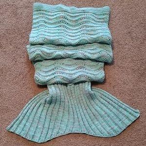 Bedding - Soft Mermaid Crochet Blanket